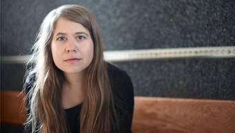 «Die Literatur evoziert offene Bilder, es findet ein Dialog mit den Lesern statt»: Julia von Lucadou (36).Maria Ursprung