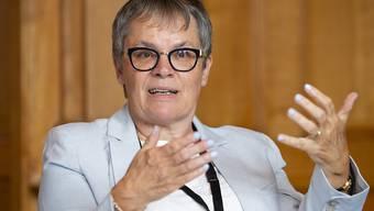Die Genfer SP-Ständerätin Liliane Maury Pasquier präsidiert derzeit die Parlamentarische Versammlung des Europarates. Diese Woche tagen Gremien des Europarat-Parlaments in Bern.