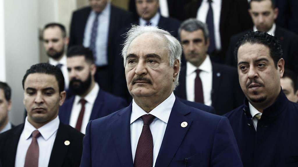 Libyens General Haftar erklärt Uno-Abkommen für hinfällig