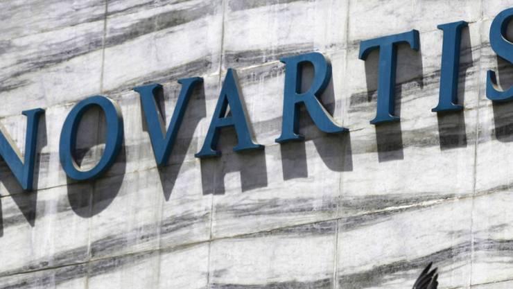 Der Pharmakonzern Novartis mit massivem Gewinnrückgang