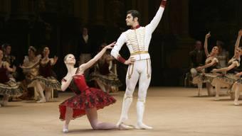 Ballett-Aufführung am Moskauer Bolschoi-Theater