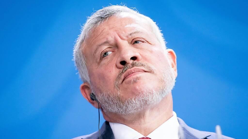 ARCHIV - Jordaniens König Abdullah II. bin Al-Hussein. Foto: Kay Nietfeld/dpa