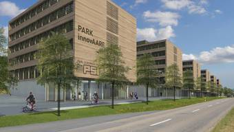 Der geplante Innovationspark «InnovAARE» bei Paul Scherrer Institut (PSI)