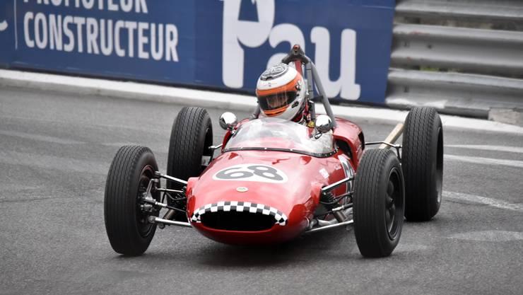 Bruno Weibel fährt auf den zweiten Gesamtplatz.