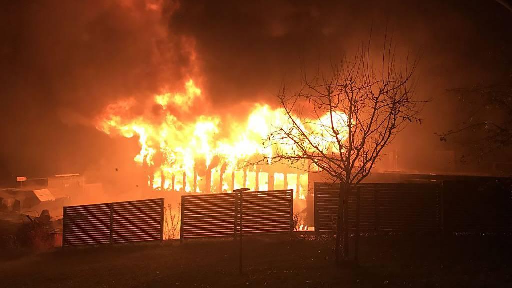 Mutmasslicher Brandstifter von Schreinerei verhaftet