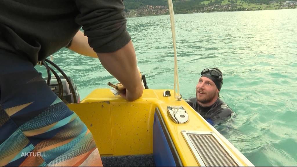 Für kranke Kinder: Ein Solothurner schwimmt die ganze Aare hinunter und sammelt Spenden