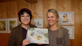 Ein erfolgreiches Duo mit viel Gespür für die kindliche Vorstellungskraft: Autorin Karin Norup-Schreier (rechts) und Illustratorin Annika Svensson.