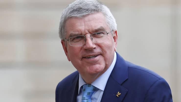 Der Deutsche Thomas Bach: Olympiasieger im Fechten (1976) und seit 2013 Präsident des Internationalen Olympischen Komitees IOC