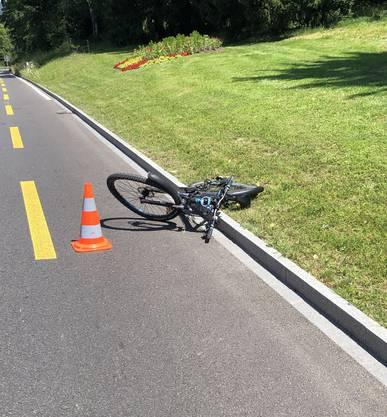 Der Velofahrer – ein 12-jähriger Schüler – wurde schwer verletzt.