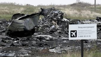 Absturzstelle des Flugs MH17 in der Ukraine (Archiv)