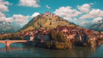 Papa Molls Film-Heimat sieht aus wie Laufenburg