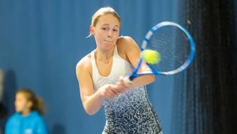 Sophie Lüscher konnte das internationale Junioren-Turnier für sich entscheiden.