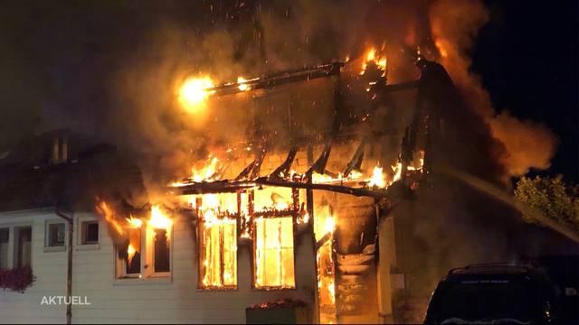 Röthenbach: Zweifamilienhaus nach Brand nicht mehr bewohnbar