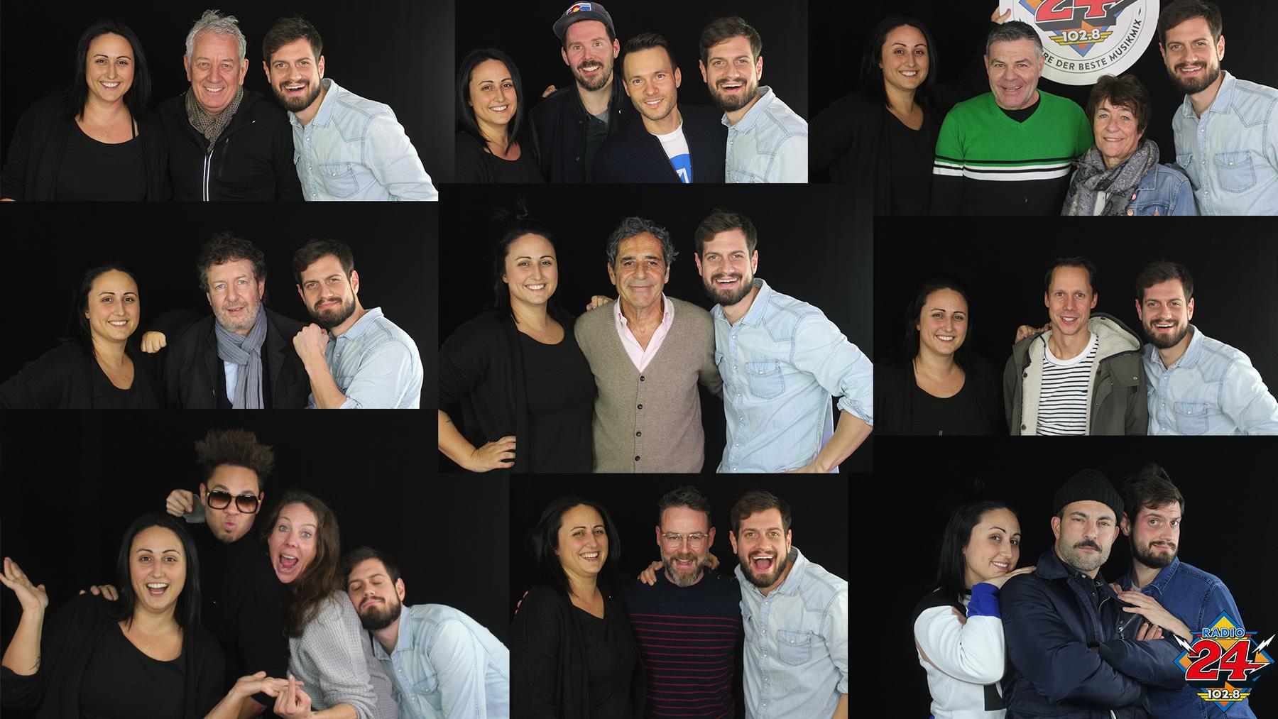 Collage, 40 Stunden-Sendung