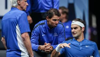 Traum-Doppel Nadal/Federer geplatzt: Der Spanier ist verletzt.