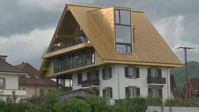 Nach langem Hin und Her: Goldenes Dach von Olten muss weichen