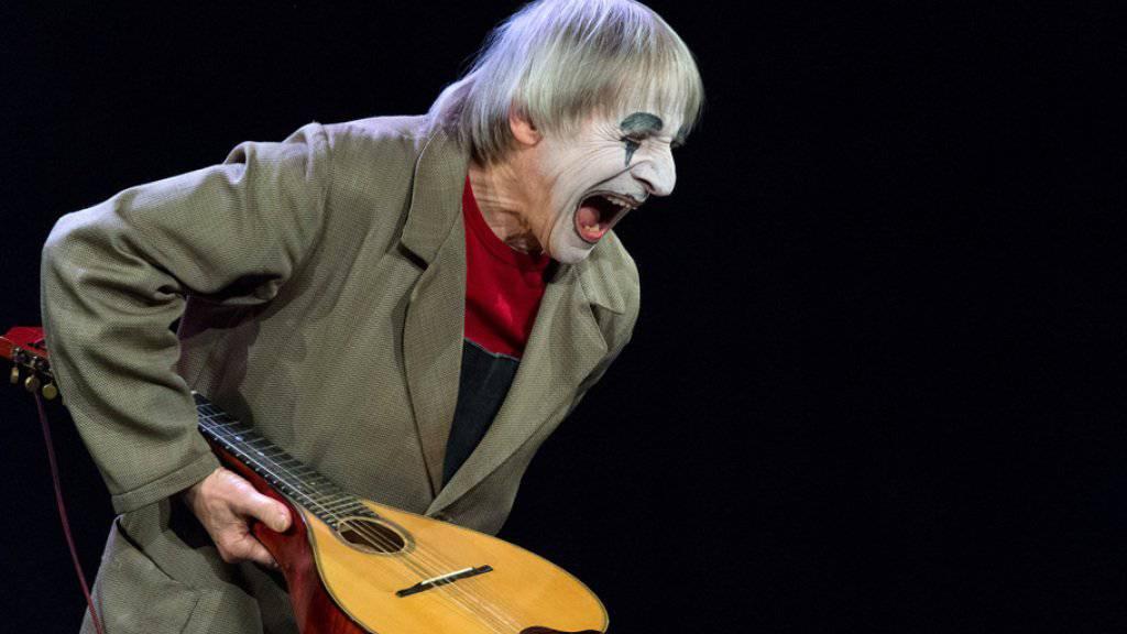 """Clown Dimitri spielt nicht nur den Gutgelaunten, er ist es auch: """"In erster Linie habe ich ein glückliches Schicksal"""" (Archiv)"""