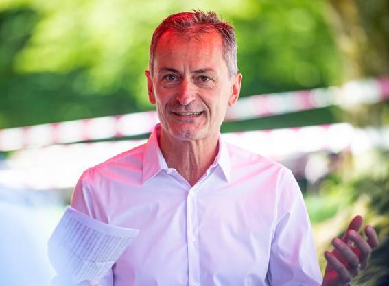 Urs Jäggi, Direktor der Sportzentrum Zuchwil AG.
