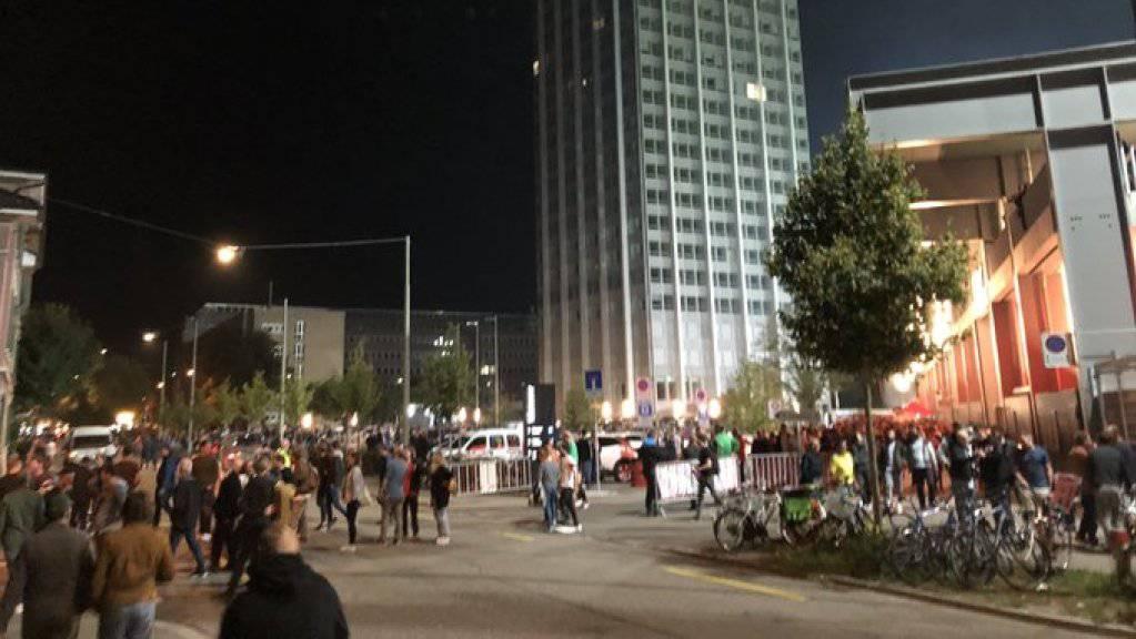 Bei der Abreise der St. Galler Fussballfans in Winterthur nach dem Cup-Spiel am Freitagabend kam es zu Ausschreitungen.