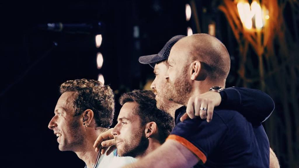Hier sind zwei Songs vom neuen Coldplay-Album
