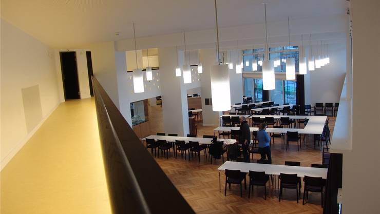 Das Alterszentrum Weihermatt, als es 2013 wiedereröffnet wurde: Damals trat eine neue Tarifordnung in Kraft. Archiv/fuo
