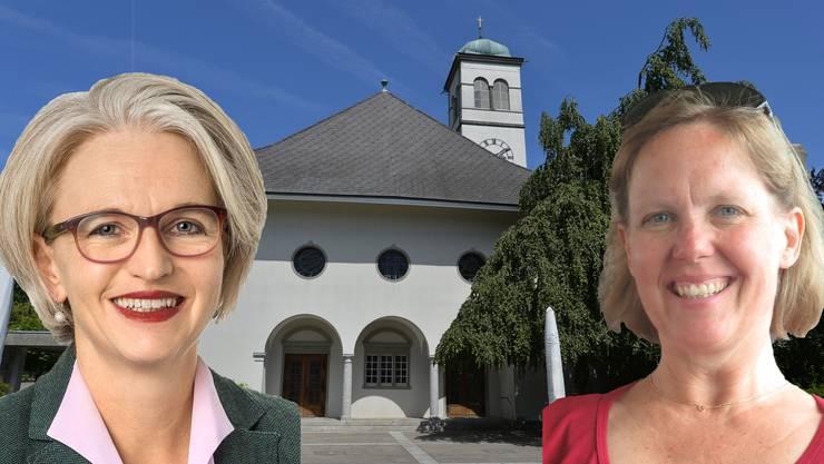 Veronika Scheidegger (l.) und Nelly Furer wollen das Präsidium.