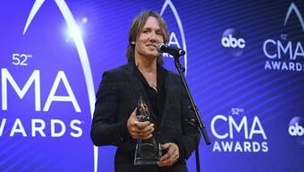 Keith Urban gehört zu den Gewinnern der diesjährigen CMA Awards, den wichtigsten Auszeichnungen der Country-Szene.