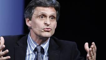 Markus Ryffel referiert 2007 anlässlich eines Talks zum Thema Sportveranstaltungen.