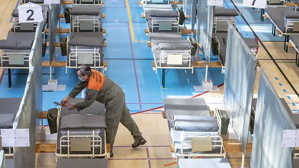 Innerrhoder Zivilschützer werden neu in Chur ausgebildet