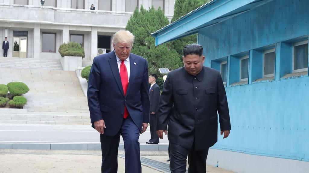 Präsident Trump: Es ist noch zu früh für einen Besuch in Nordkorea