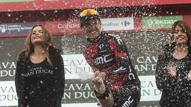 Der Italiener Alessandro De Marchi entschied jeweils bereits 2014 und 2015 eine Vuelta-Etappe für sich