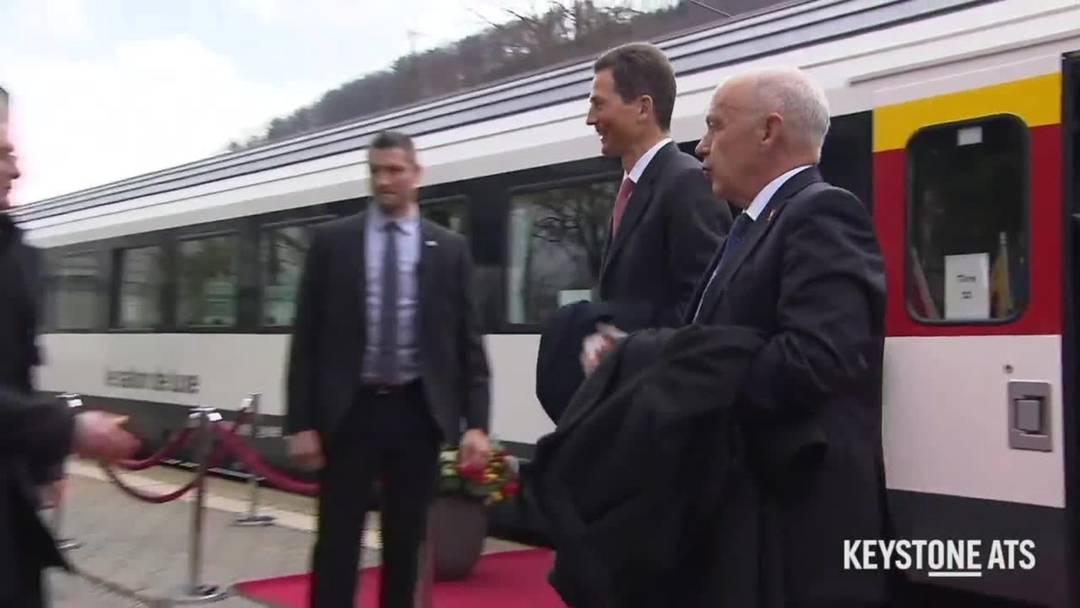 Bundesrat empfängt Erbprinz Alois von und zu Liechtenstein