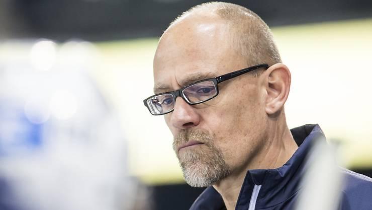 Ambri-Trainer Hans Kossmann.