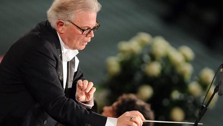 Der Dirigent Enoch zu Guttenberg, Vater des früheren deutschen Verteidigungsminister Karl Theodor zu Guttenberg, ist mit 71 Jahren gestorben. (Archivbild)