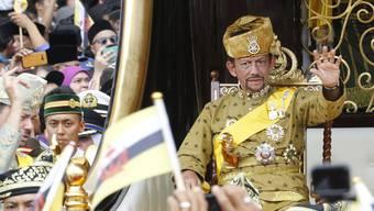 Der Sultan von Brunei Hassanal Bolkiah hat die Strafgesetze in seinem Land drastisch verschärft.
