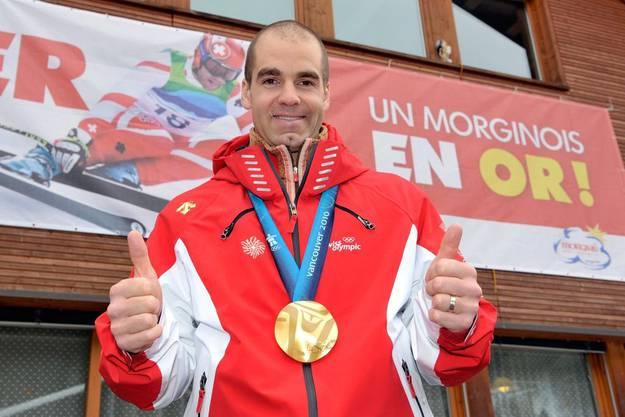 Olympiasieger Didier Défago fuhr 2005 einen Rollerfahrer über den Haufen.