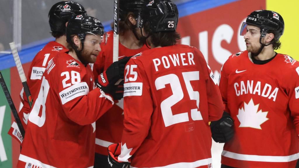 Das Team Canada gewinnt gegen Kasachstan zum zweiten Mal hintereinander und kann die Viertelfinals weiter aus eigener Kraft schaffen