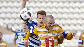 Marco Schneuwly traf für Luzern gegen Lausanne zweimal