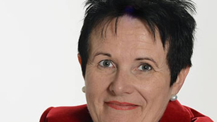 Beatrix Jud, abgebildet auf der Homepage ihres Treuhandbüros