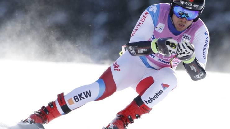 Rückkehrer Mauro Caviezel bestand den Belastungstest am Lauberhorn mit Bravour