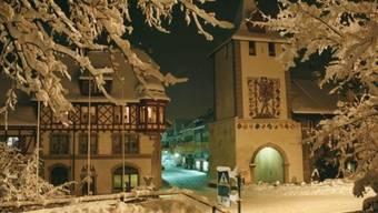 Zu den bekanntesten Sehenswürdigkeiten von Sempach zählt etwa das Luzernertor. Dieses bildet den südlichen Zugang zur alten Stadt. (Archivbild)