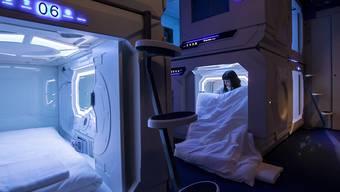 Bald schon sollen die 19 Schlafkapseln wieder gebucht werden können: Die Betreiber des Hotels in Luzern haben die Baubewilligung erhalten. (Archivbild)