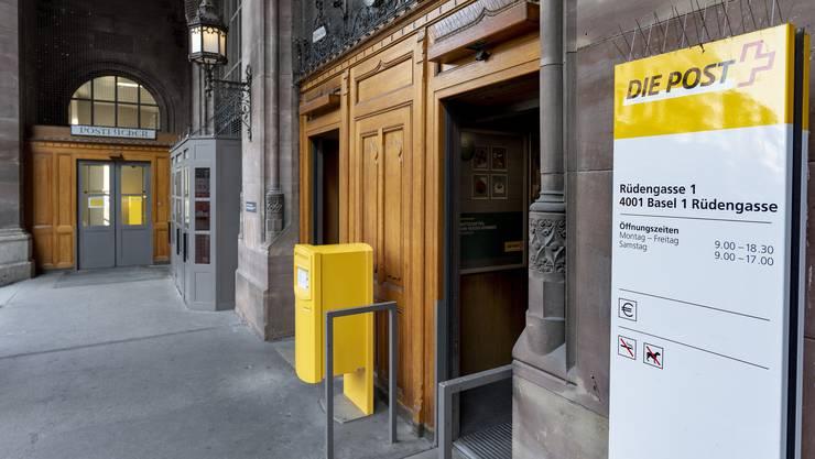 Hauptpostschliessung: Der Ständerat lehnte die Standesinitiative aus Basel-Stadt einstimmig ab.