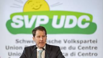 Die SVP-Fraktion um Thomas Aeschi fordert konkrete Massnahmen für die Zeit nach der «ausserordentlichen Lage».