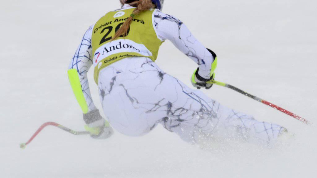 Lindsey Vonn ist zurück im Schneetraining und peilt ihr Weltcup-Comeback in den nächsten Wochen an. (Archivbild)