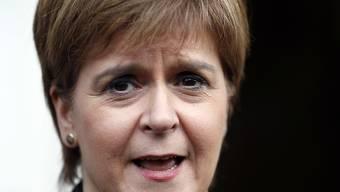 """Die Regierungschefin Schottlands, Nicola Sturgeon, sieht ein ein zweites Unabhängigkeitsreferendum als Wahl zwischen dem Brexit und """"einer Zukunft für Schottland als unabhängige europäische Nation"""". (Archivbild)"""