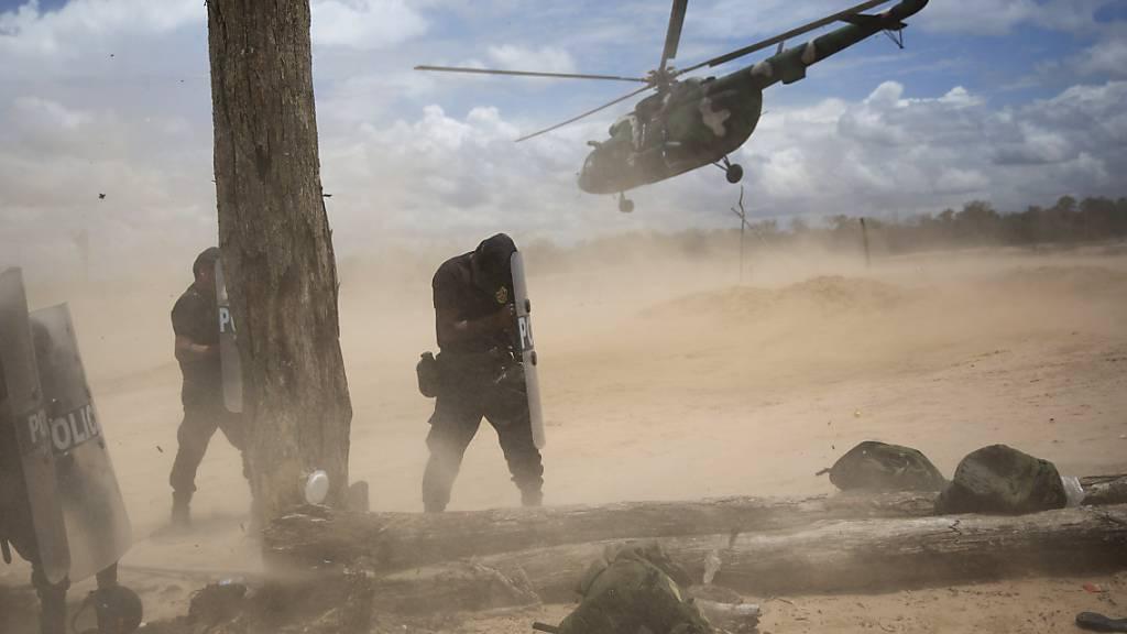 Fünf Soldaten sterben bei Helikopterunglück in Peru
