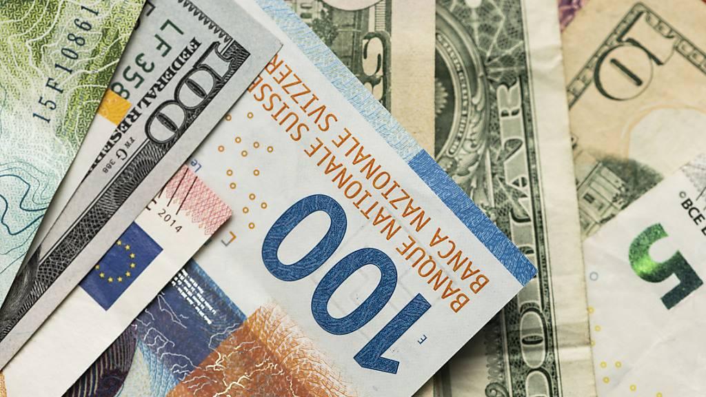 Der Franken ist gerade nicht mehr den zentrale Player auf den Devisenmärkten. (Symbolbild)