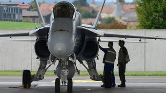 Muss unter anderem ersetzt werden: Die Flotte der Kampfjets F/A-18.