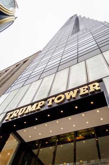 Der Trump Tower in New York - kein Ort der guten Küche. (Colourbox)